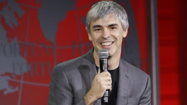 Larry Page has not spoken in public since a TED talk in 2014.
