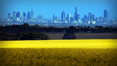 The land on Melbourne's fringes will become new suburbs over the next few years.