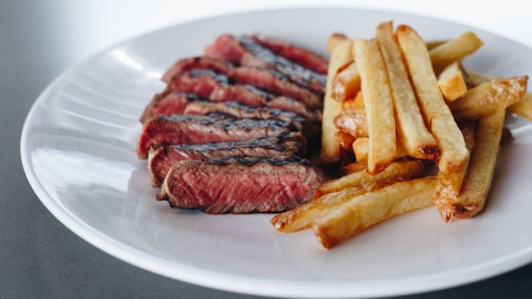 Listen to your body. If it says, 'Eat the steak,' then eat the steak.