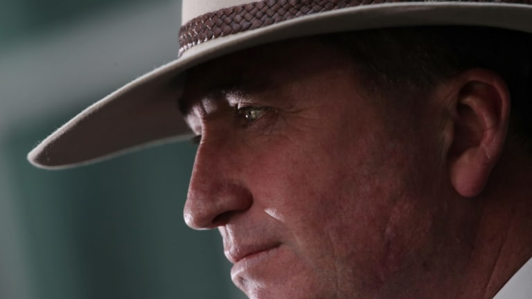 As agriculture minister Barnaby Joyce dismissed claims by animal rights activists about the live export trade.
