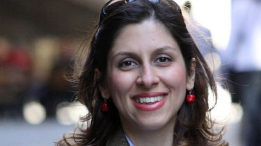 This undated photo made available by the Free Nazanin Campaign, shows Nazanin Zaghari-Ratcliffe.