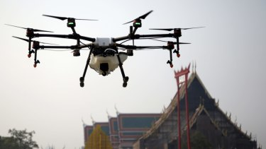 Drones are seen as one of the major future threats to airline security, a top European Union official says.