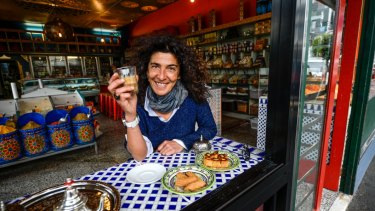 Cafe proprietor and activist Hana Assafiri has received abusive phone calls over many years.