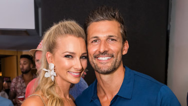 Rose Bay locals Anna Heinrich and Tim Robards enjoyed the festivities.