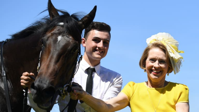 Well placed: Gai Waterhouse's Invincible Star has been running in group 1 company throughout the spring and heads to Wyong on Wednesday.