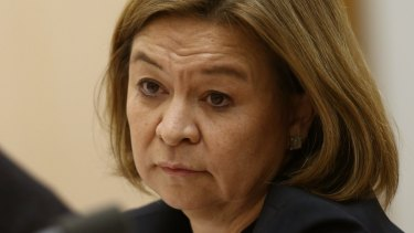 Michelle Guthrie, pictured here in 2016, was sacked as the ABC's managing director after refusing to resign.