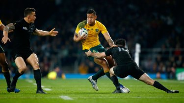 Familiar home: The 2019 Rugby World Cup looks set to be broadcast on Fox Sports and Ten.