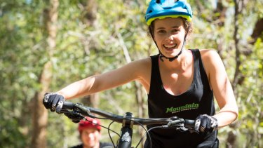 Jen Geale, co-founder of Mountain Bikes Direct.