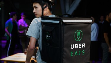 Delivery platforms like UberEats generally don't supply nutritional information.