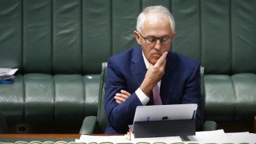 Prime Minister Malcolm Turnbull was relying on One Nation's vote on the company tax cuts.