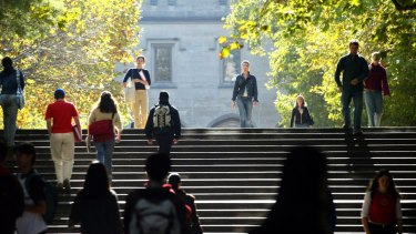 Victorian students applying to university are likely to get a place.