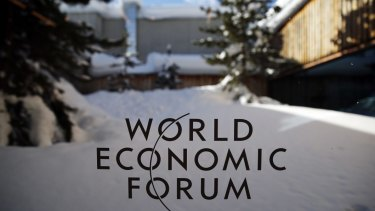 Worldwide debt was a big topic of discussion at Davos.