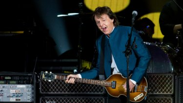 Paul McCartney was one of the artists pushing for the law change.