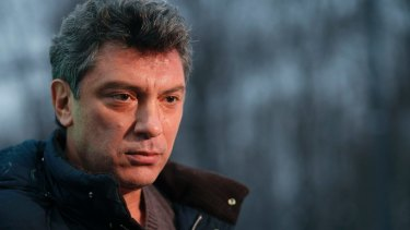 Boris Nemtsov, pictured in 2011.