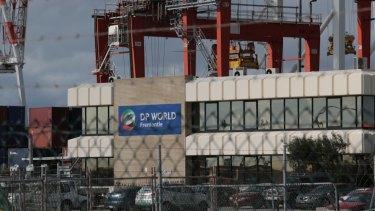 DP World's offices at Fremantle port,