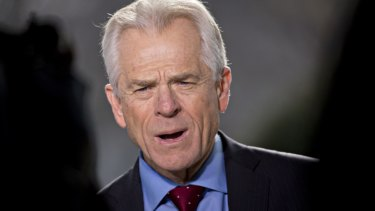Trump's top trade adviser Peter Navarro is the leading anti-China hawk in the administration.