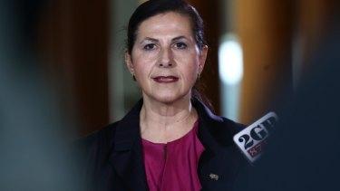 Liberal senator and minister Concetta Fierravanti-Wells.