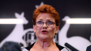 Peterson says Pauline Hanson can do no wrong as far as his listeners are concerned.