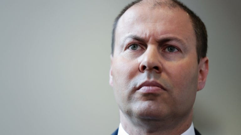 Who's that man? People in the street failed to recognise Federal Treasurer Josh Frydenberg.