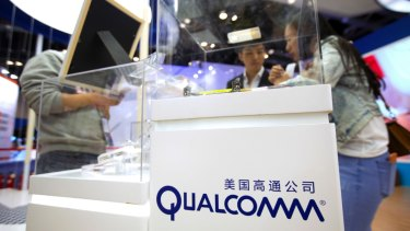 Qualcomm shares have soared more than 35 per cent since the deal was announced.
