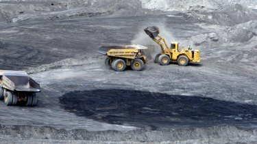New Hope's New Acland coal mine, west of Toowoomba.