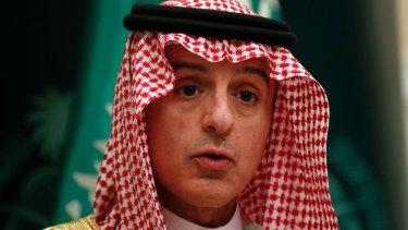 Saudi Foreign Minister Adel Ahmed Al-Jubeir.