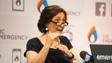 Victorian Energy Minister Lily D'Ambrosio.