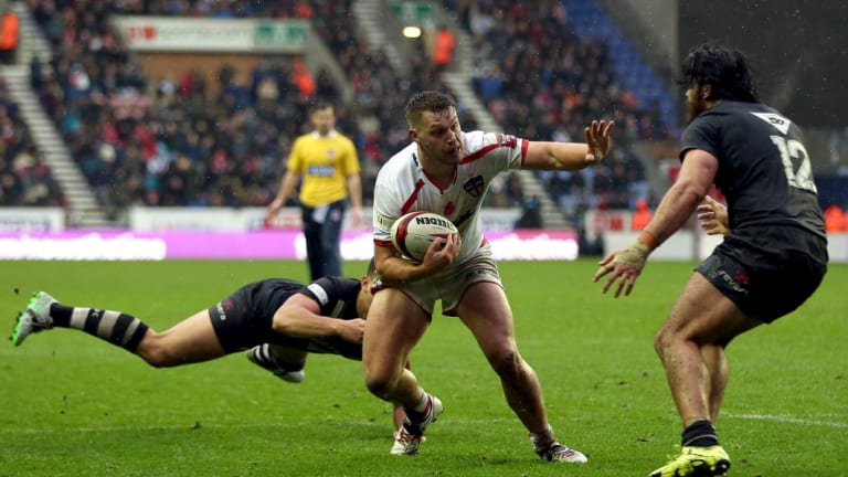England second-rower Elliott Whitehead will face New Zealand in Denver on Saturday week.