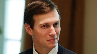 White House senior adviser Jared Kushner