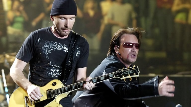 U2 are the year's top-earning musicians.