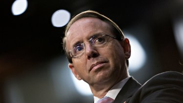 Deputy Attorney-General Rod Rosenstein was serious when he proposed wearing a wire to record Trump, McCabe said.