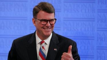 John Berry, the former US Ambassador in Canberra.