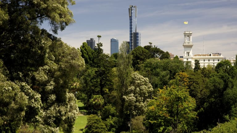 Melbourne's Royal Botanic Gardens.