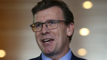 "Alan Tudge is seen by business as a ""safe pair of hands"" to potentially take over the workplace relations portfolio."