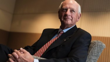 Former Woolworths chief executive Roger Corbett, who is close to Tony Abbott.