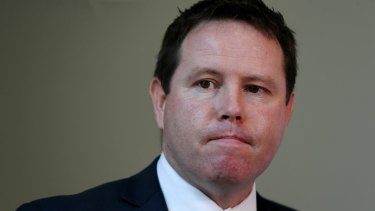 """Nationals MP Andrew Broad said he made a """"dumb mistake""""."""