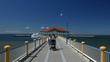 Redcliffe jetty, in the heart of Moreton Bay Regional Council.