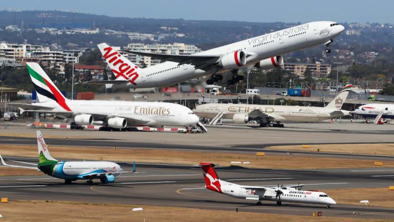 International passengers are forecast to nearly double at Sydney Airport over the next two decades.