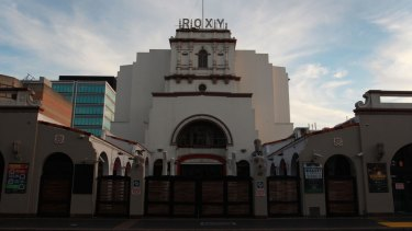 The owner of the Roxy Theatre wants to build a high-rise tower above it.