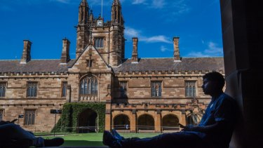 The University of Sydney said it was satisfied the protest did not contravene freedom of speech.