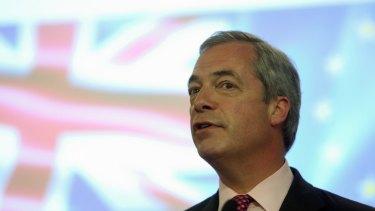 Nigel Farage is on an Australian speaking tour.