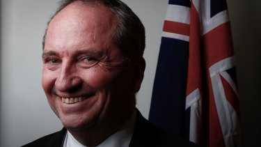 Former deputy prime minister Barnaby Joyce says he supports Nationals leader Michael McCormack.