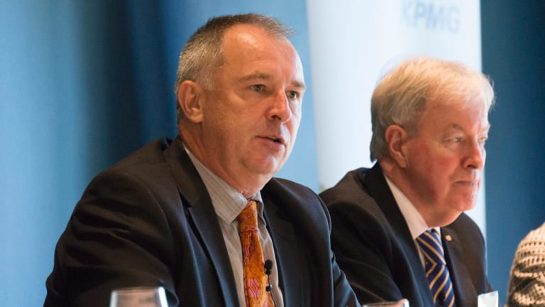 Former department head Gordon de Brouwer says Canberrans don't talk plainly.