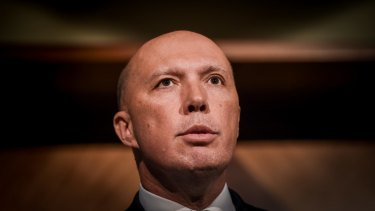 Home Affairs Minister Peter Dutton is concerned by the hacking revelations.
