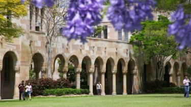 University of Queensland was among the universities included in the investigation.