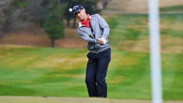 Canberra's Brendan Jones let his Japan Open lead slip, but is still in the running.