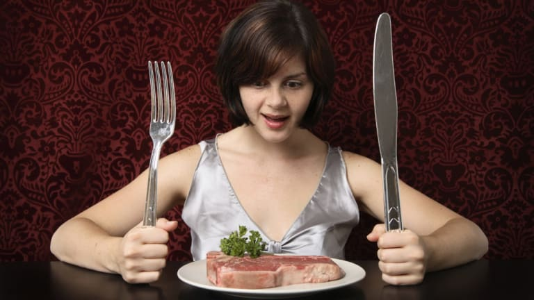Young women need more iron in their diet than young men.