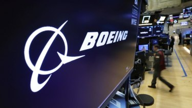 Boeing's first quarter profit slumped 13 per cent.