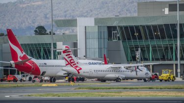 More than 3 per cent of flights between Canberra and Sydney were cancelled in July.