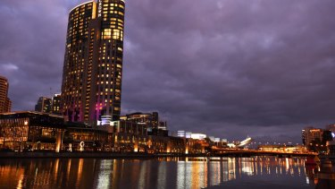 Crown Resorts' flagship casino in Melbourne's Southbank.